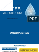 Water Microbiology