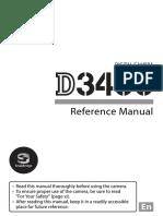 Nikon D3400 Reference Manual