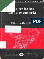Jelin, Elizabeth - Los Trabajos de La Memoria Cap 2