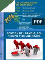 Cultura y Clima Organizacional Gestión Del Cambio Del Tiempo y de Los RR.hh.