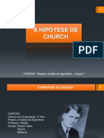 A Hipótese de Church 2
