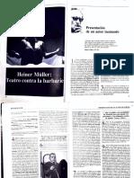 Müller Primer Acto