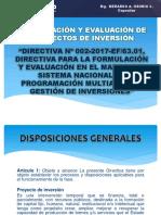 Formulación y Evaluación de Proyectos de Inversión Viernes 26