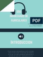 PTT Uso Inadecuado de Auriculares