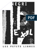 Antonio Negri Exil