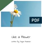 taylor faulkner like a flower