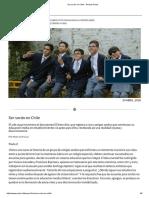 Ser Sordo en Chile - Revista Paula