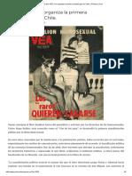 22 Abril 1973_ Se Organiza La Primera Protesta Gay en Chile. _ Primera Línea