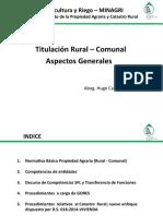 Titulacion Rural, Aspectos Generales