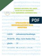 12utilizacindemicroorganismosenlaindustria-131110092023-phpapp01