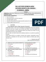 3° (ABRIL) CORRECCIÓN EL LUGAR MAS BONITO DEL MUNDO