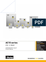 AC10 Series - IP20 Product Manual - HA502320U001 Issue 5