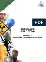Solucionario Guía Práctica Electivo Mecánica II Movimiento Circunferencial Uniforme 2015