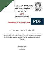 Info Lem Intercambiador de Calor