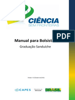 Manual Do Bolsista - CsF Graduação Sanduíche