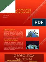 Geopolitica Nacional y Geopolitica de Chile