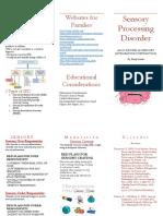 sensory processing brochure