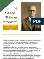 Biografia Edward Chace Tolman