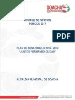 Informe de Gestion Vigencia 2017 31012018