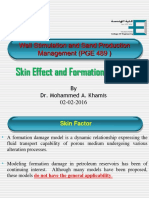 Skin Effect and Formation Damage