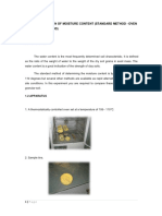 38842684 Determination of Moisture Content