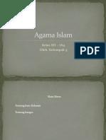 Agama Islam Jenis Kelamin Dan Bangsa