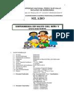Sillabus Niño y Adolescente 2018-i