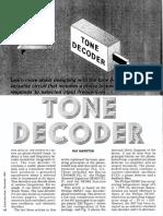 Tone Decoder