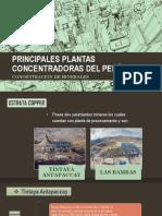Principales Plantas Concentradoras Del Perú
