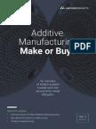Additive Manufacturing - Make or Buy