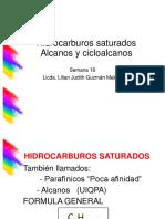 16 Hiddrocarburos Saturados 2016