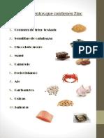 10 Alimentos Que Contienen Zinc