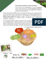 Convite 2ª Feira Estadual de Produtos Da Reforma Agrária MST PB