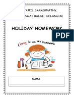Home Work Year 2