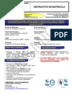 Instructivo de Matricula Administrativos 2017-2