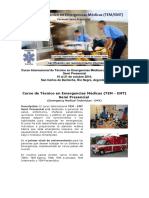 Curso Internacional de Técnico en Emergencias Médicas