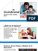 El Apoyo Escuela Para Padres