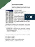 Ejercicios Estadística Descriptiva DB01