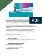 2016- J Z a Los Derechos ()