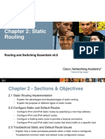 2.1.1 Chapter 2 Static Routing