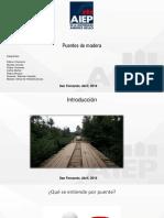 puentes de madera en chile
