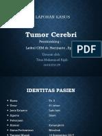Tumor cerebri Lapsus .ppt