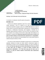 Informe Objecion de Liquidacion