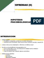 Las Esquizofrenias Hipotesis Biologicas