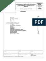 PR-BO-001 V7 Recepcion e Inspeccion y Almacm