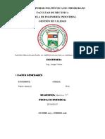 Puntos Princiaples Para La Certificacion de La Iso 9001