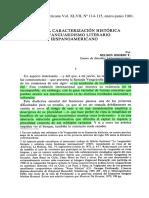 Osorio, Nelson. Para Una Caracterización Histórica Del Vanguardismo Literario Hispanoamericano
