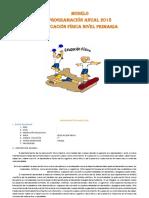 Modelo de Programacinanual de Educacion Fisica 2018
