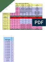 Bombardier Year Planner 09-10