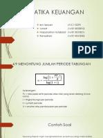 Ppt Matematika Keuangan Kelompok 6